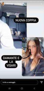 Andrea Damante: in macchina con la nuova fidanzata ed è una nota attrice