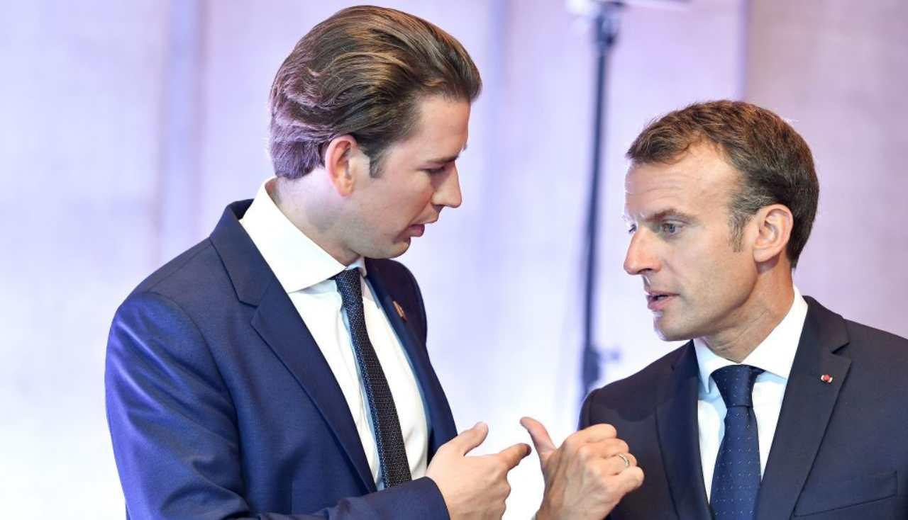 Macron e Kurz, vertice europeo antiterrorismo ma l'Italia non c'è