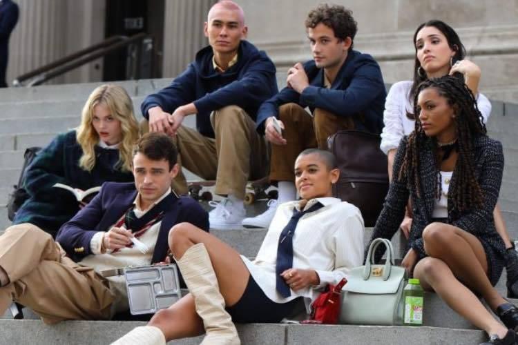 nuovo cast Gossip Girl