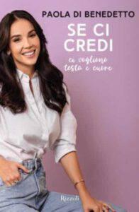 Paola Di Benedetto annuncia il soldout della sua autobiografia