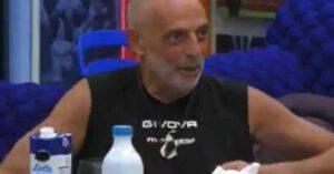GF Vip Paolo Brosio rischia già la squalifica: tutte le info su cosa sta succedendo