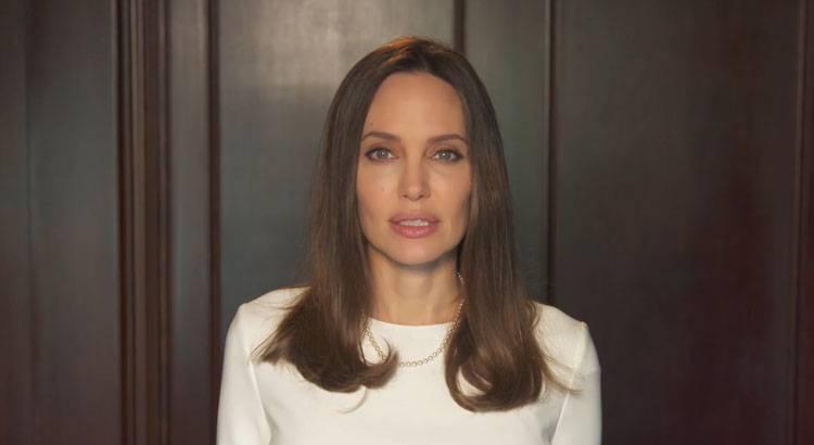 Angelina Jolie contro violenza donne
