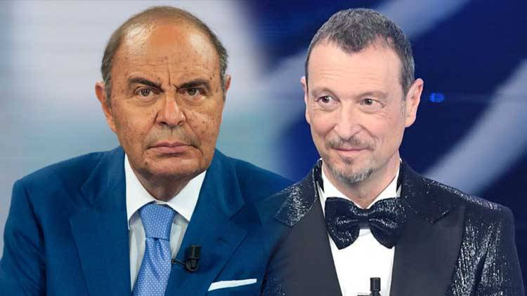Bruno Vespa contro Amadeus