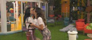 Gf Vip: Dayane e Rosalinda molto vicine nel magazzino beccate da Stefani e Cristiano-VIDEO