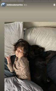 Belen Rodiguez a capodanno senza il figlio Santiago: svelato il motivo