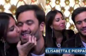 GF Vip shock: Elisabetta bacia Pierpaolo nel confessionale la prova è rossetto sbavato