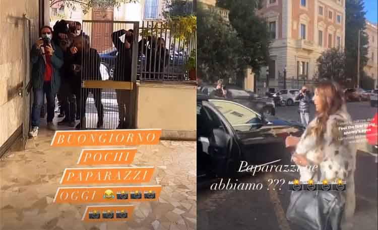 Elisabetta Gregoraci paparazzi