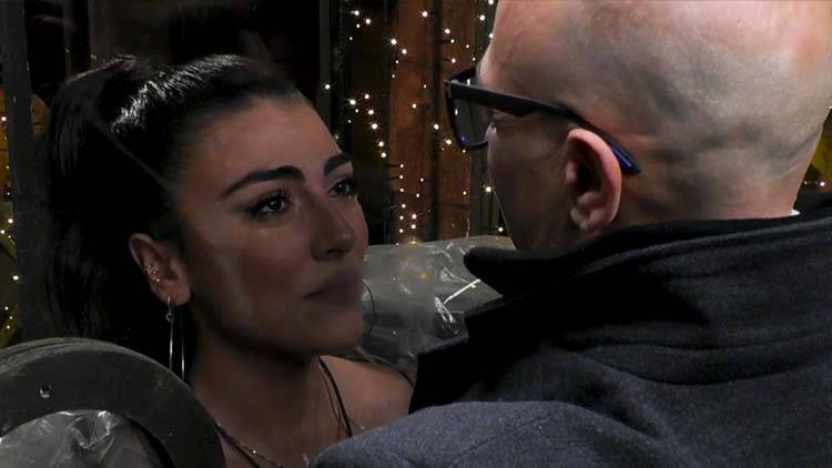 Giulia Salemi incontra il padre