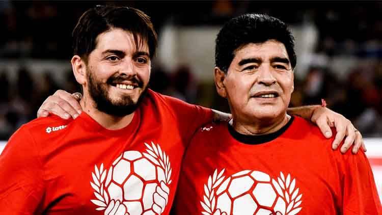 Maradona jr a Live Non è la D'Urso