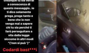Mario Balotelli auto macchina distrutta vandalo minaccia instagam vendetta