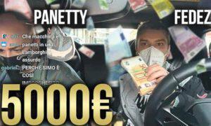 Fedez polemica beneficenza 5mila euro lamborghini