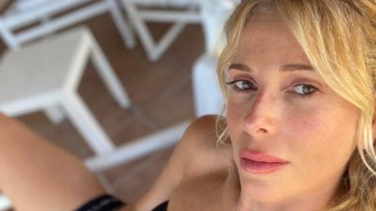 Alessia Marcuzzi incontenibile su Instagram |  arrivano anche i complimenti della Canalis