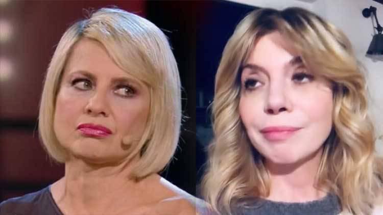 Benedicta Boccoli Antonella Elia ha finto sul tumore