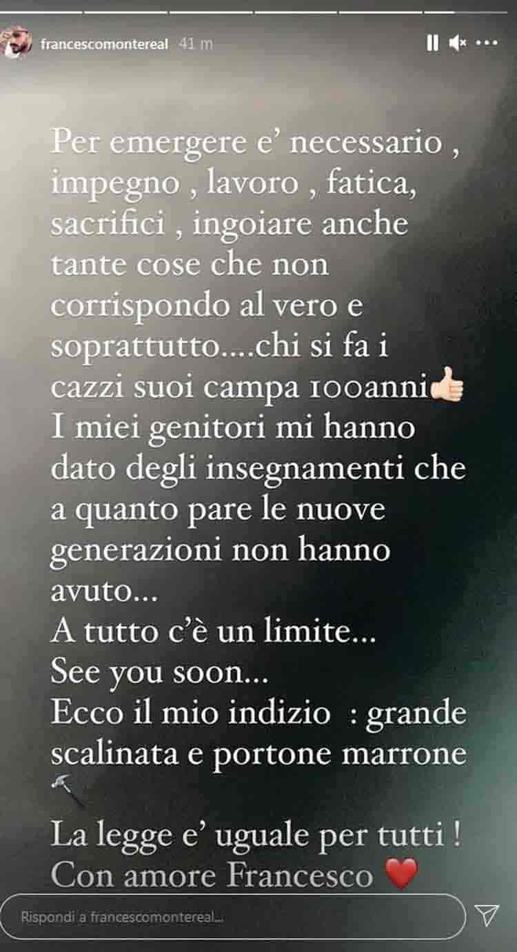 Francesco Monte Tommaso Zorzi Giulia Salemi