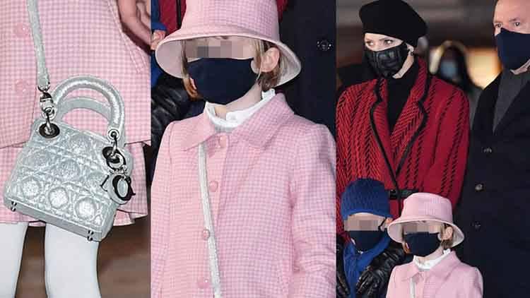 il look della principessina: borsa da 3mila euro