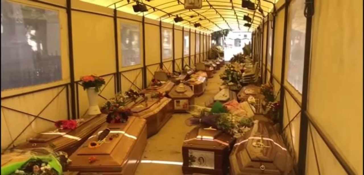 A Palermo il cimitero non ha più posti: 700 bare aspettano sepoltura