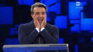 """L'Eredità Flavio Insinna si rivolge al concorrente dicendo: """"Cosa hai fatto.."""""""
