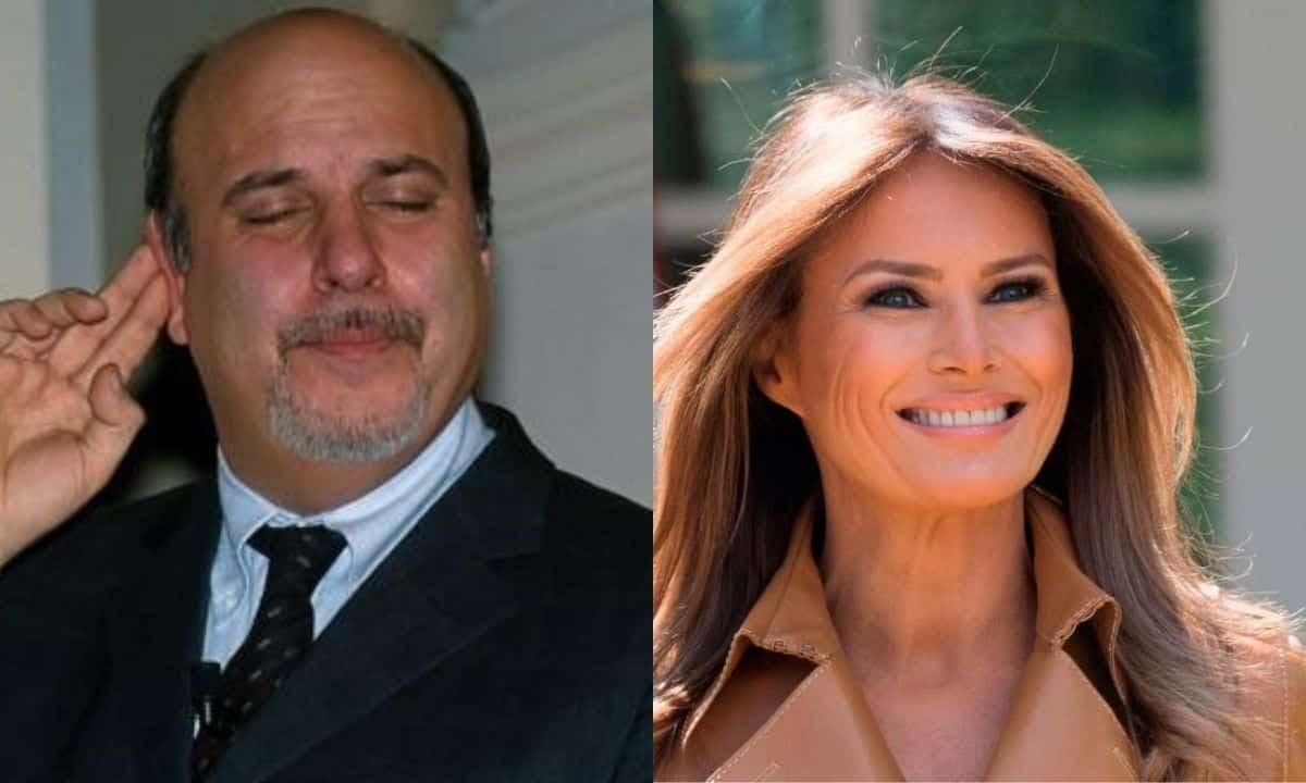 """Alan Friedman, battuta infelice su Melania Trump """"è una escort"""" il web insorge"""