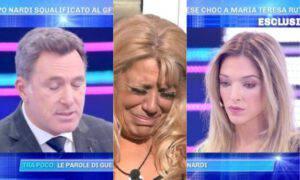 Guenda Goria Filippo Nardi flirt in corso bacio foto
