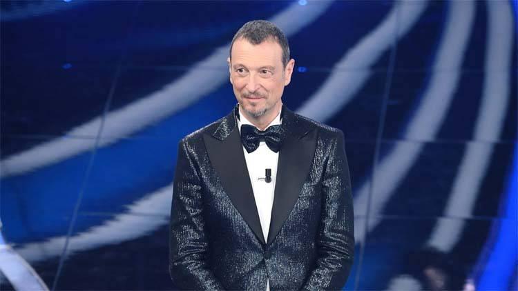 Amadeus commento Sanremo