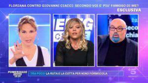 """Barbara D'Urso si rivolge al vip in diretta: """"Tu sei pazza!"""""""
