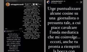 Selvaggia Lucarelli Stefano Bettarini scontro social Instagram
