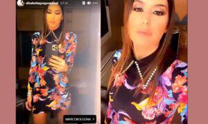 Elisabetta Gregoraci gf vip outfit