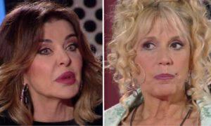 Alba Parietti smentisce Maria Teresa Ruta Alin Delon Live non è la D'Urso
