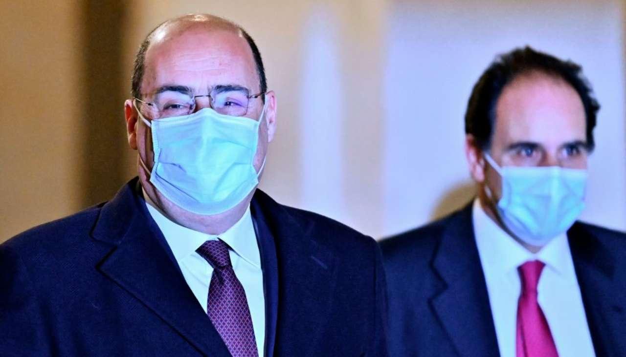 PD sospeso tra l'appoggio a Draghi e il no a Salvini