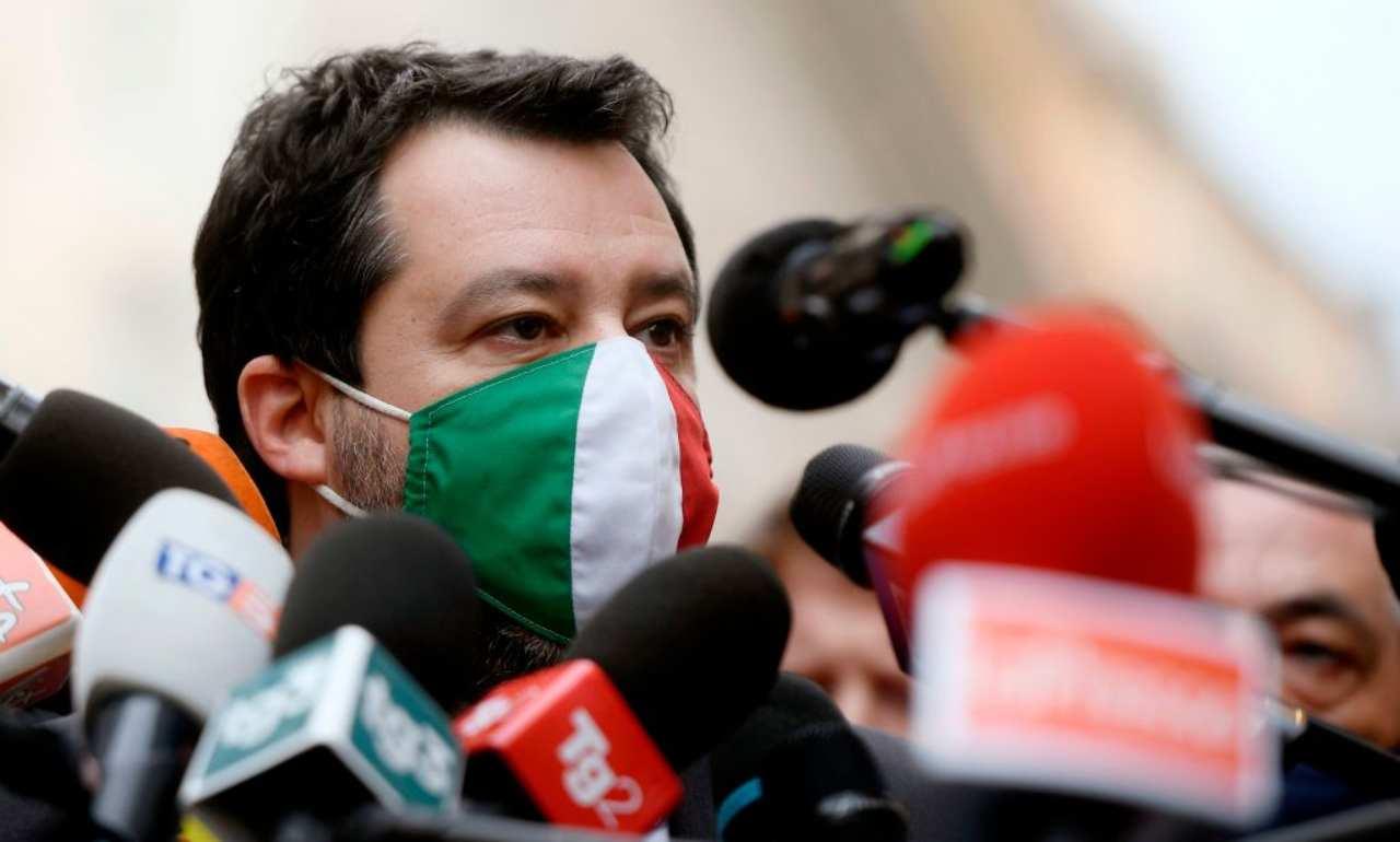 Salvini si sfila dalla Maggioranza Ursula