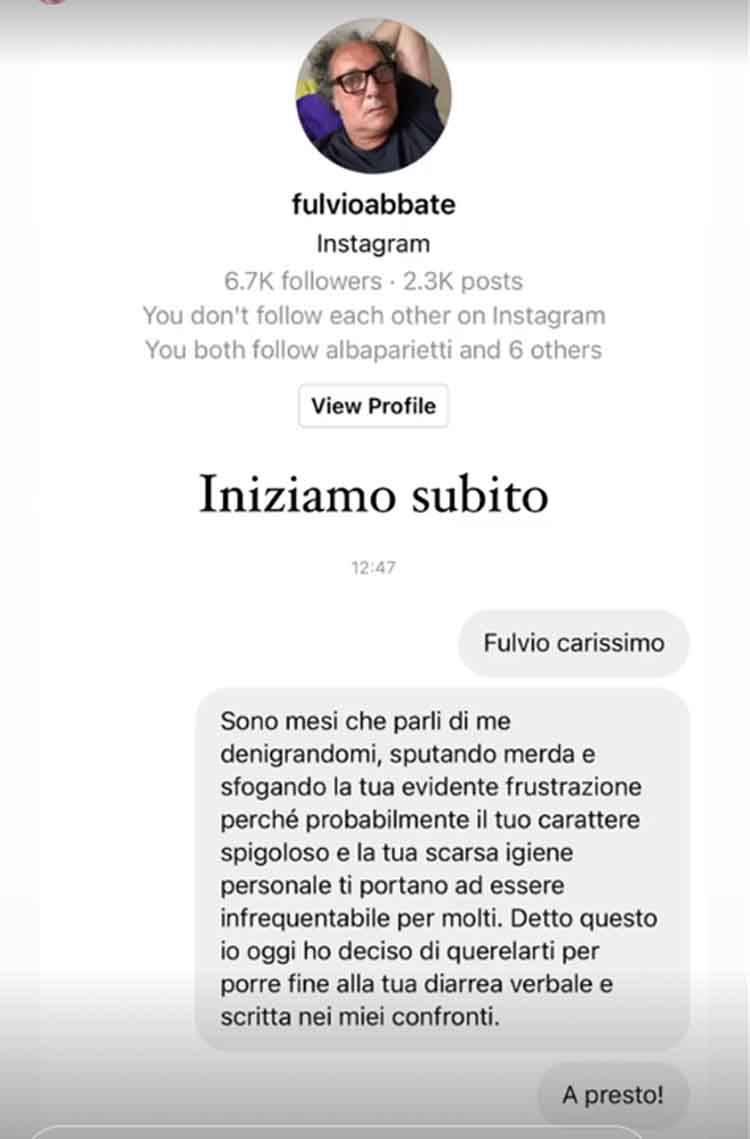 Tommaso Zorzi Fulvio Abbate stories