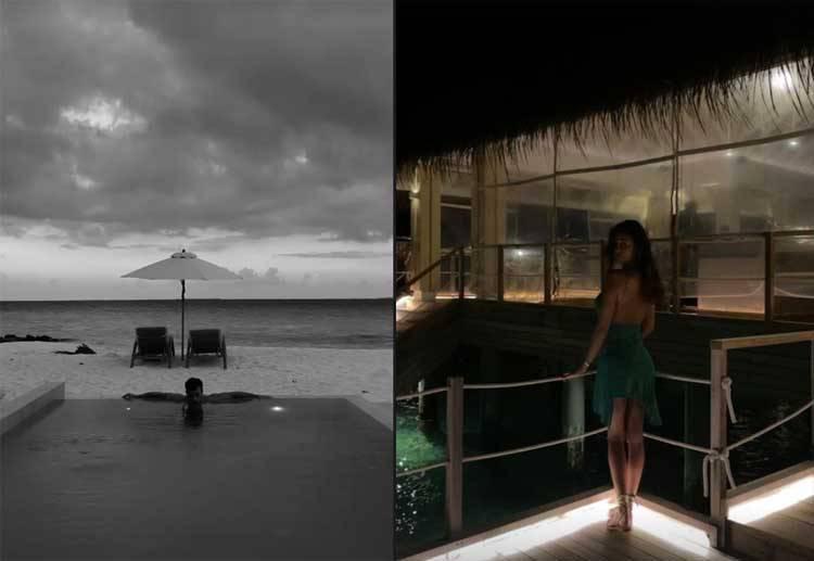 Belen Rodriguez Maldive