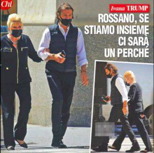 Ivana Trump e Rossano Rubicondi