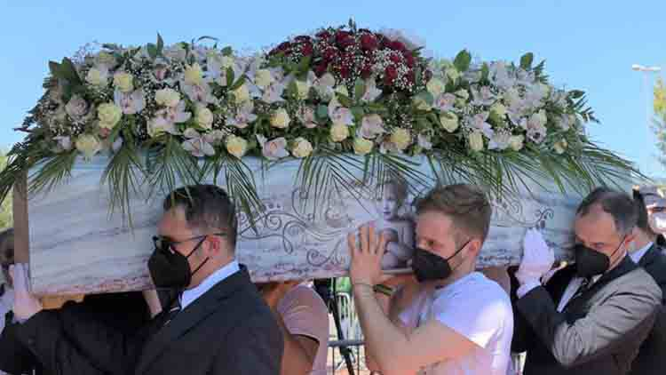 Luana D'Orazio funerale