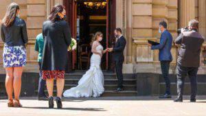 matrimonio sposi multati