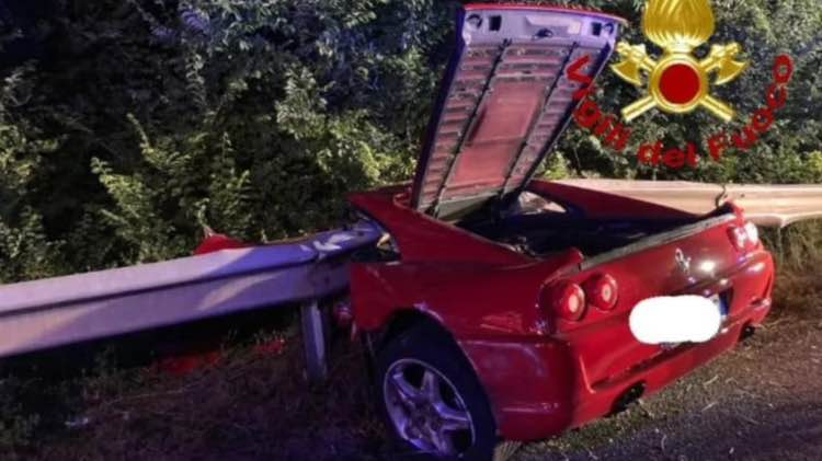Ferrari incidente 5 giugno 2021 leggilo.org