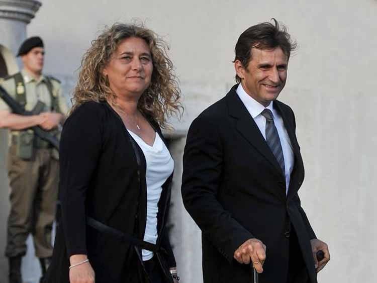 Alex Zanardi moglie