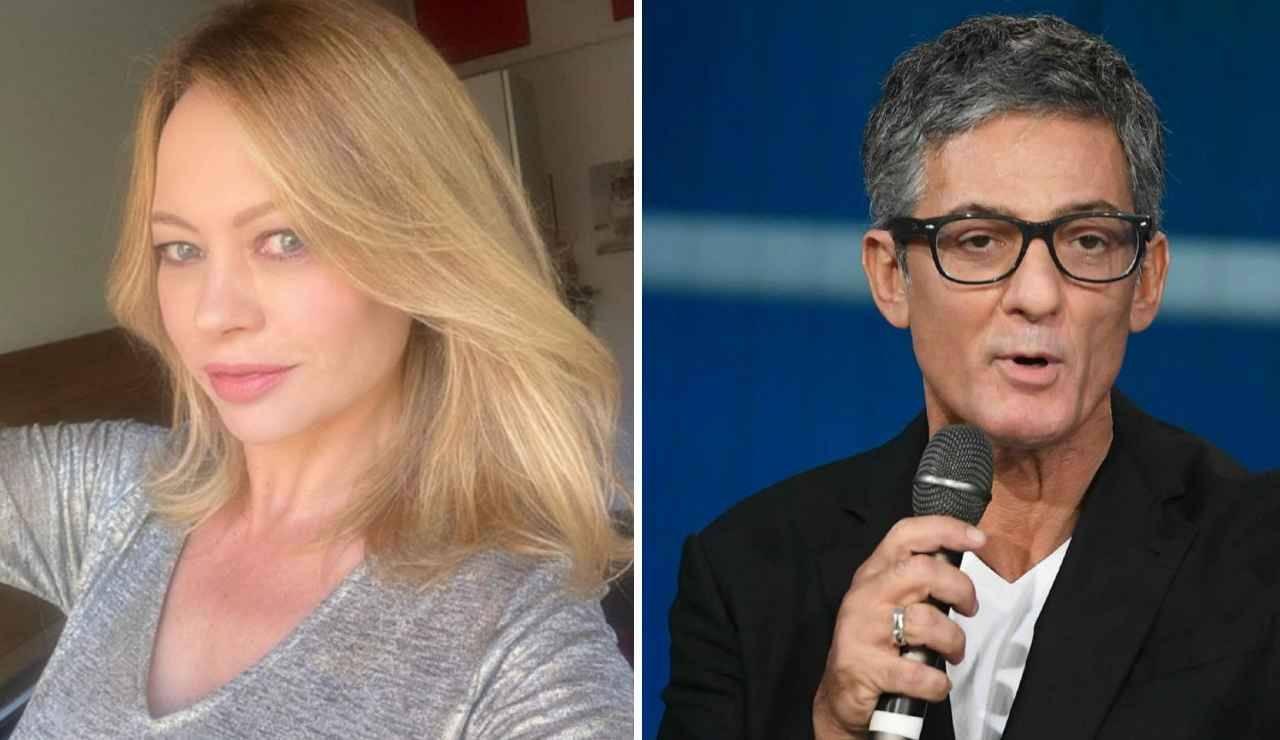 """Anna Falchi e Fiorello a Sanremo notti di passione : """"Facevamo tremare i muri"""""""