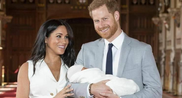 Principe Harry Meghan Markle figlio