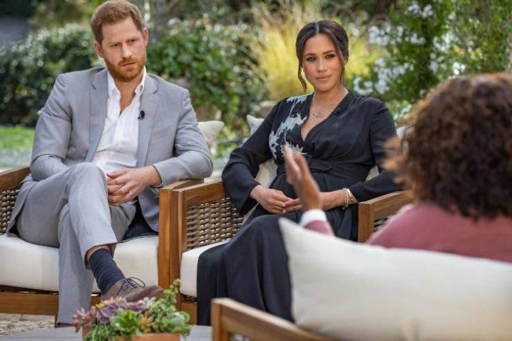 Meghan e Harry intervista Oprah Winfrey