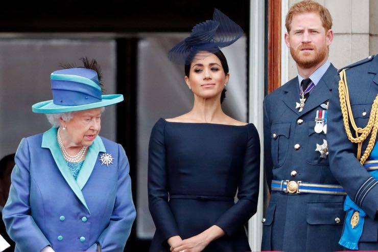 Regina Elisabetta II, Harry e Meghan