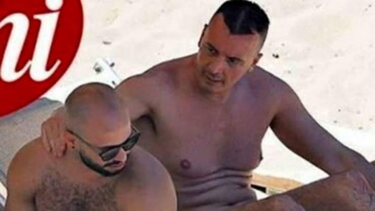 Rocco Casalino con il fidanzato
