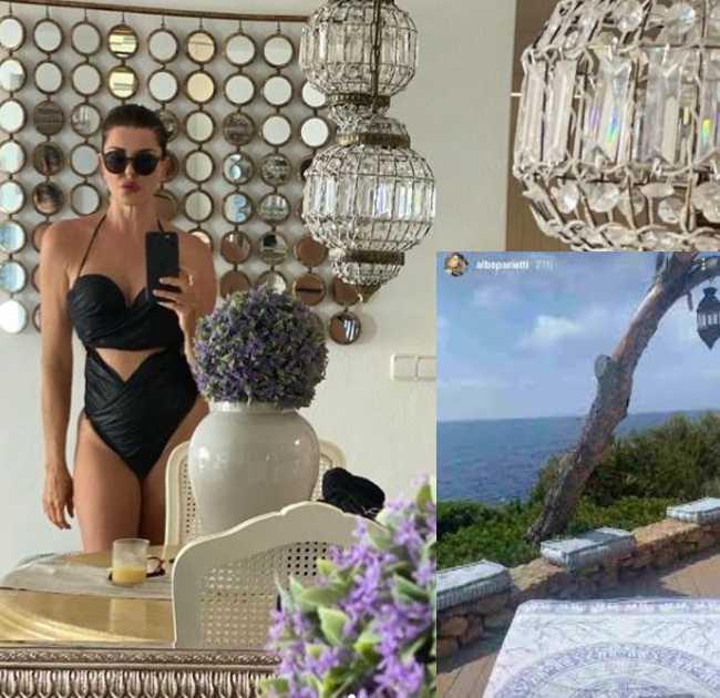 Alba Parietti, avete mai visto la sua casa ad Ibiza? Dimora da sogno