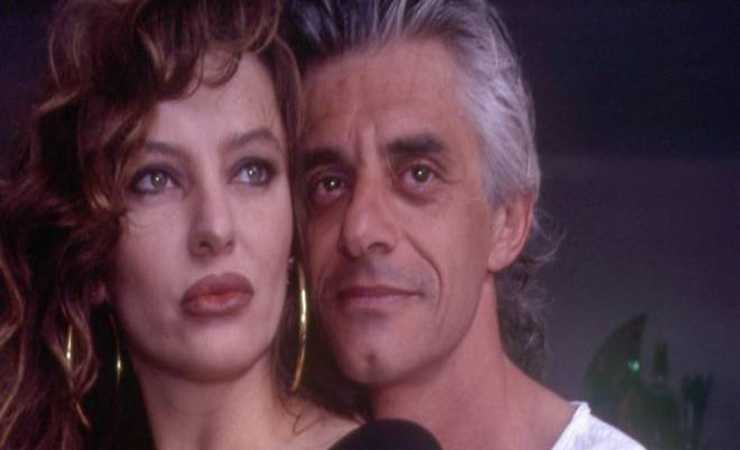 Alba Parietti e Franco Oppini negli anni '80 (MeteoWeek)
