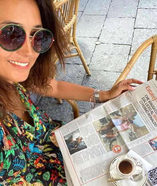 Caterina Balivo si mostra senza trucco e filtri: la conduttrice al naturale FOTO