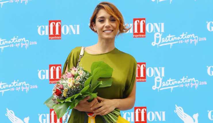 Cristiana Dell'Anna al Giffoni nel 2016 (Getty, Stefania M. D'Alessandro)