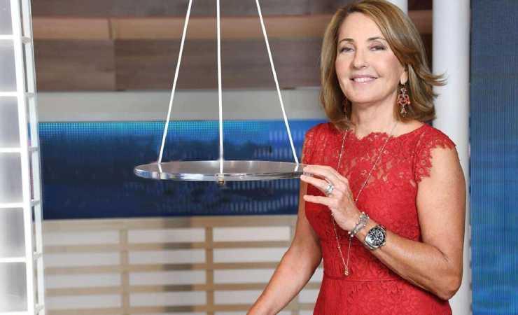Barbara Palombelli, presentatrice di Forum (MeteoWeek)