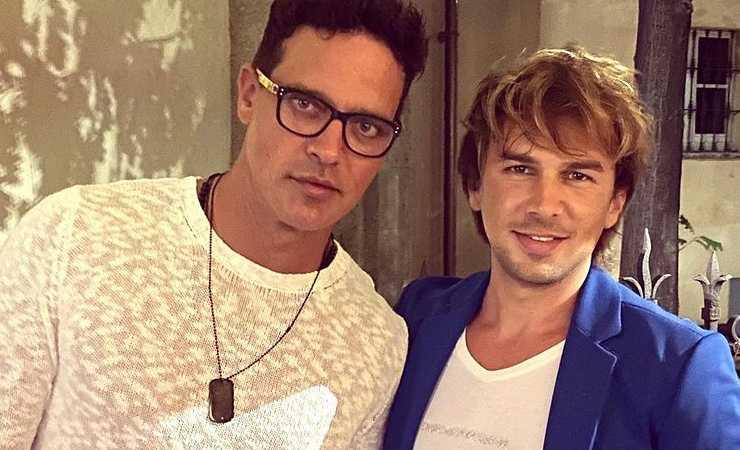Gabriel Garko e Ivan Gray (Instagram)
