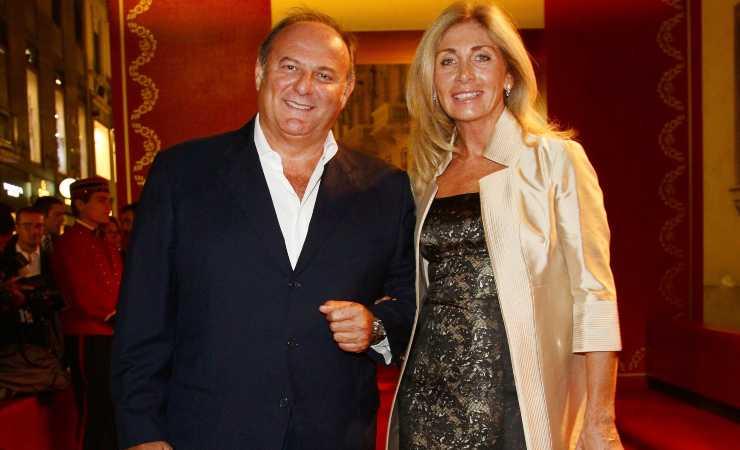 Gerry Scotti e Gabriella Perino (Getty, Vittorio Zunino Celotto)