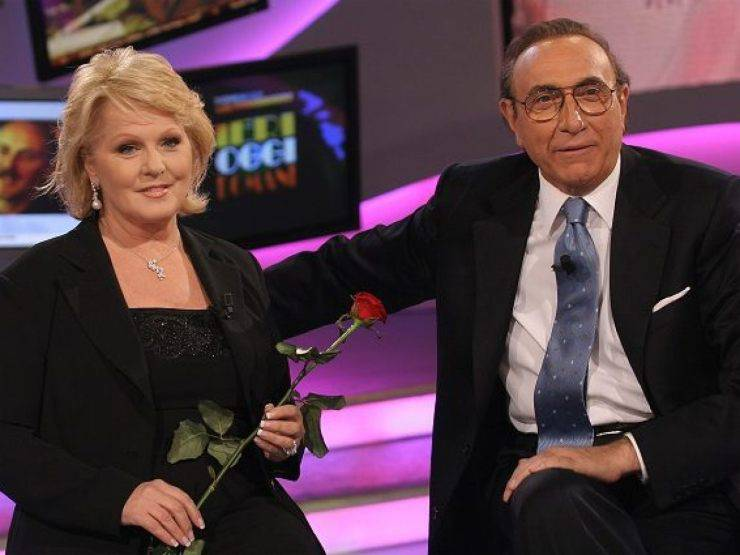 Katia Ricciarelli e Pippo Baudo (Tv Fanpage)